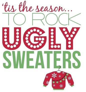 Middle School Ugly Sweater Day-12/18/2020