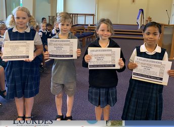 Our Weekly MERCY AWARD Winners