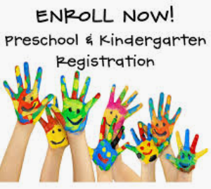 Preschool and Kindergarten Resigtration