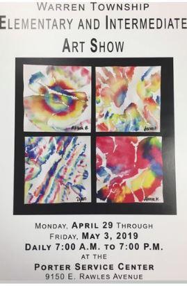 Warren Township K-6 Art Show