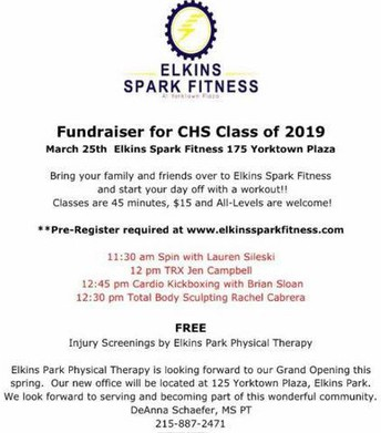 Class of '19 Fundraiser at Elkins Spark