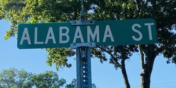 Alabama Street is Now Open!