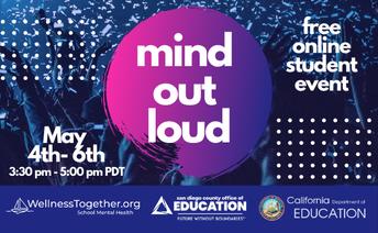 Mind Out Loud – Evento sobre la salud mental en las escuelas intermedias y secundarias