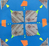 4th grade Radial Collage