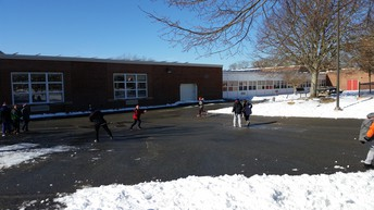 Thanks to the custodial and maintenance crew for clearing the snow/ice!