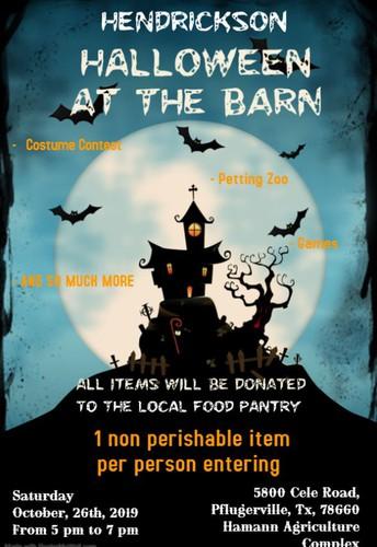 Hendrickson Halloween at the Barn