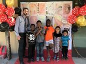 Mr. Woodward + kids