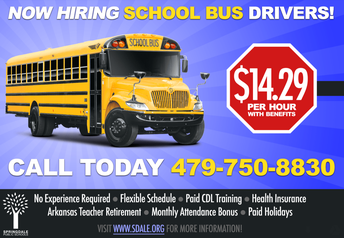 Now Hiring Bus Drivers
