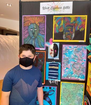 4th Grade Artist, Mr. Kyan North