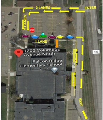 NEW Drop-Off / Walkers Procedure (adult supervision in place for walkers)