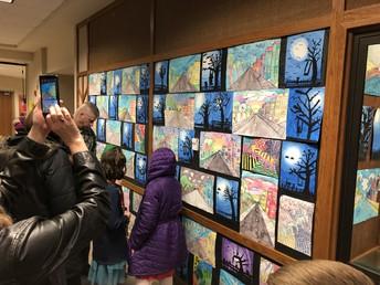 4th/5th Grade Art Show