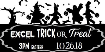 Excel Trick or Treat presentation link
