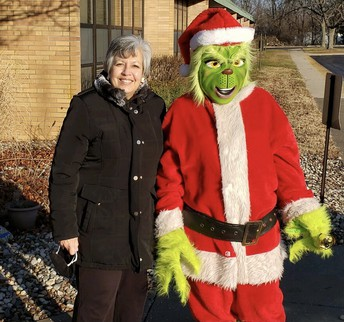 Mrs. Brocksmith and The Grinch Are BEST FRIENDS!