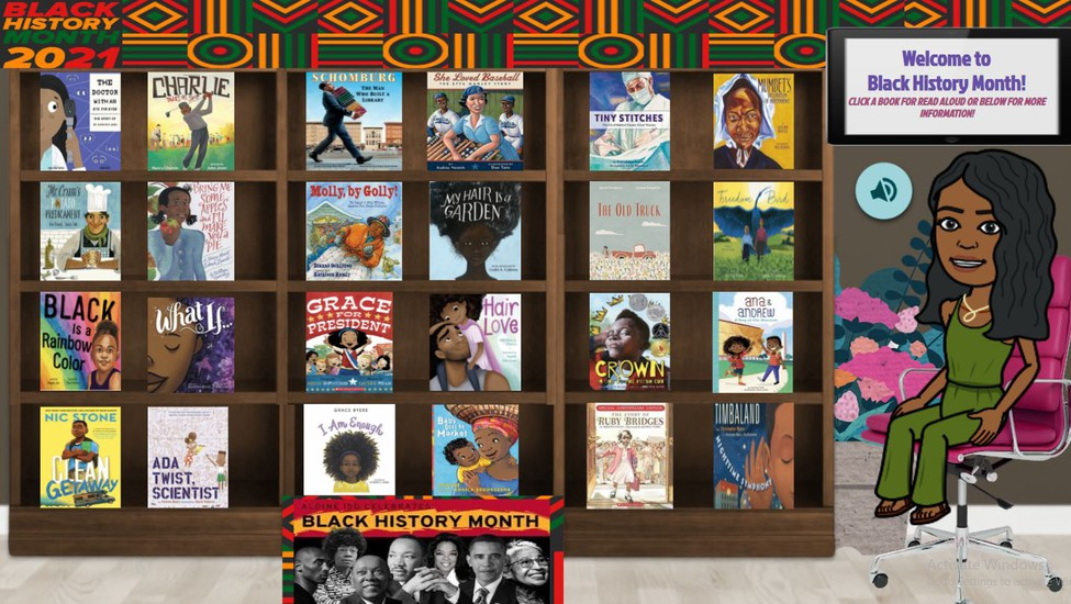 Black History Month Library