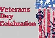We Salute our Veterans! Celebration Planned for Nov. 12