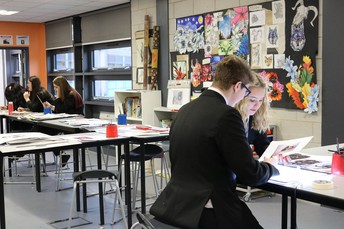 Year 11 Art Students