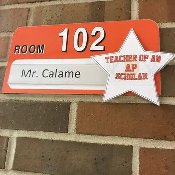 Mr. Calame AP Stats