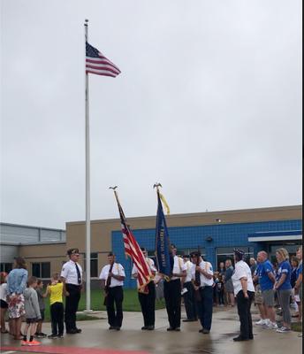 Tiffin Flag Raising