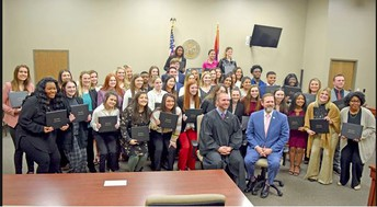 GHS Students Participate in Teen Court