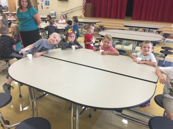 Afterward, students headed out for extra recess