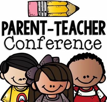 Parent/Teacher Conferences This Week