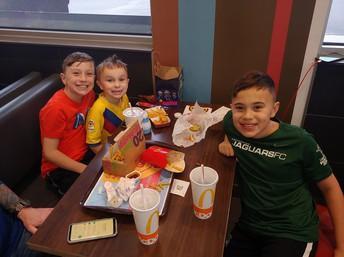 VO Students at McDonald's Night