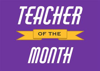 December Teachers of the Month