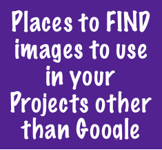 A few places to locate images other than GOOGLE!