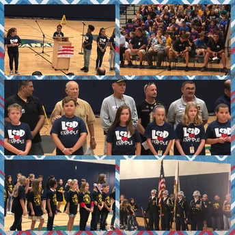 Leadership Club's Veterans Day Assembly