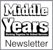 November Middle Years Newsletter