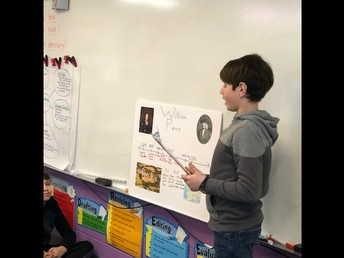 Luca presents about William Penn