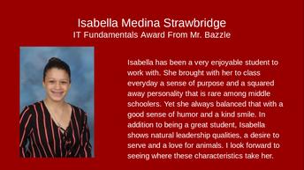 Isabella Medina-Strawbridge