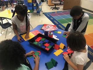 Exploring Polydrons in Kindergarten