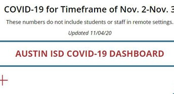 Austin ISD Covid-19 Dashboard