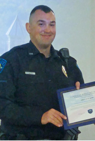 FHS grad Sjodin to return as school resource officer