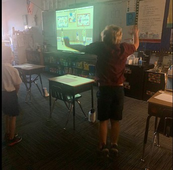 Movement Break in First Grade