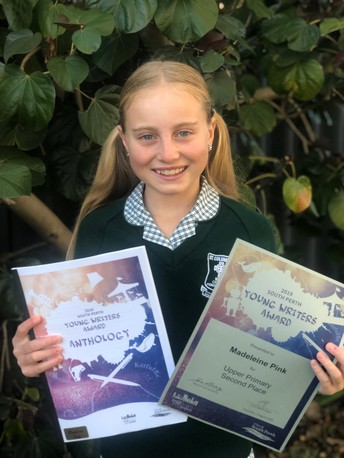 South Perth Young Writers Award 2019
