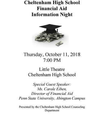 CHS Financial Aid Info Night