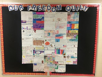 4th Grade Freedom Quilt