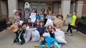 Teddy Bears and T-shirts donations