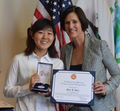 Min Ji Seo, and the Congressional Award of Achievement