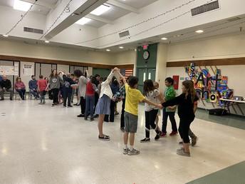 4th Grade Folk Dancing