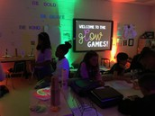 Gettin' our Glow On in fifth grade!