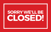 Business Office Closure