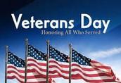 Grade 4 Presents Our Veterans Day Music Programs - Friday, Nov. 10