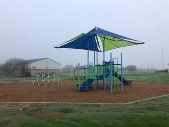Celebrating the new playground @ Thornton