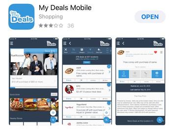 My Deals Mobile App