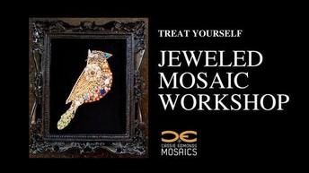 July 17-Jeweled Mosaic Workshop