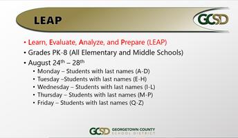 GCSD LEAP Days & Enrollment Form