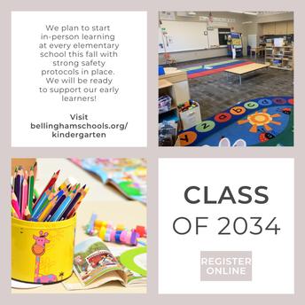 Kindergarten Registration Fall 2021
